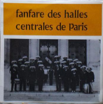 Disque Fanfare des Halles de Paris  Kgrhqf10
