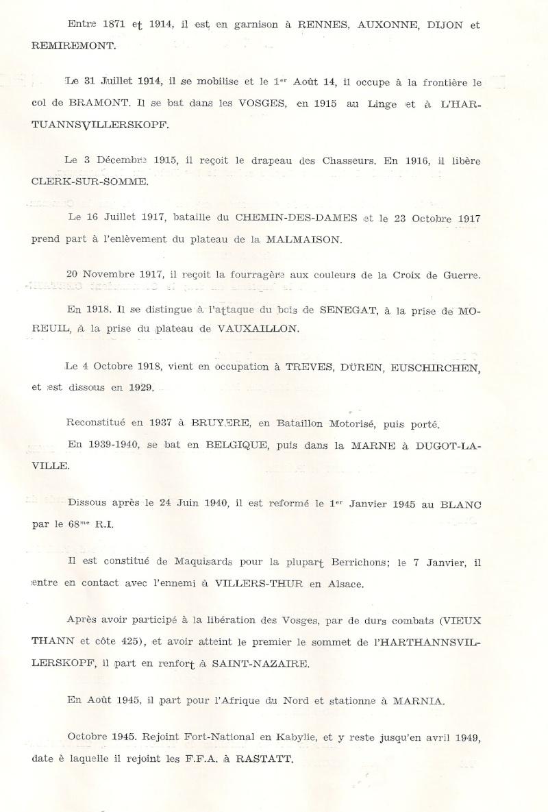 Historique du 5e BCP Histor19