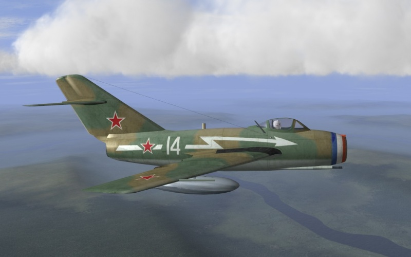 "[Hobby Boss] Mig 15 ""Normandie Niémen"" ( what-if ) fini Nn_sum10"