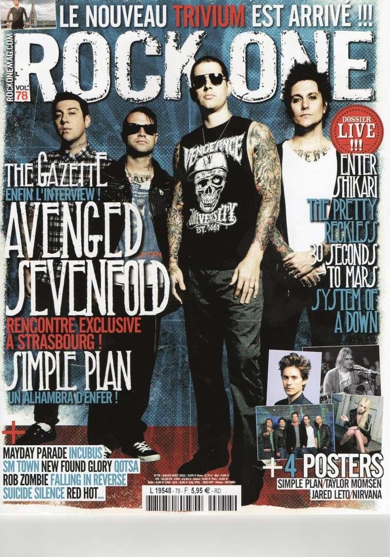 Rock One n° 78 Juillet-Août 2011  Rock_o10