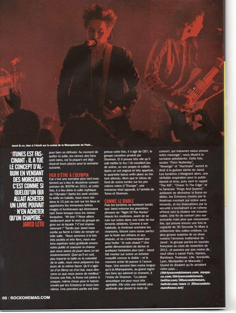 Rock One n° 78 Juillet-Août 2011  Rock_o11