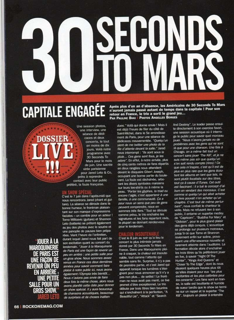 Rock One n° 78 Juillet-Août 2011  Rock_o12