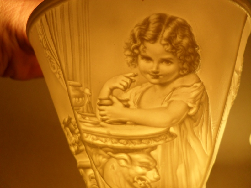 Lithophane Fairy Lamp/Night light for sale Sdc11310