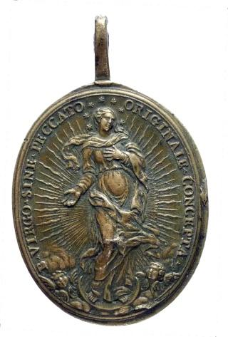 Inmaculada Concepción / Arcángel S. Miguel. Hamerani  (R.M. SXVIII-O147) P1050315