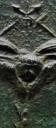 Urna de santa Filomena / Haz de tres flechas entre palmas - s. XIX Ste_ph10