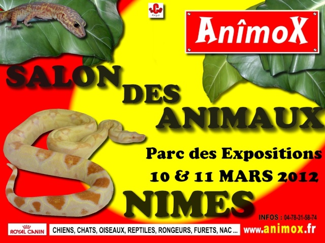 NIMES : Animox 10 & 11 mars 2012 Affich12