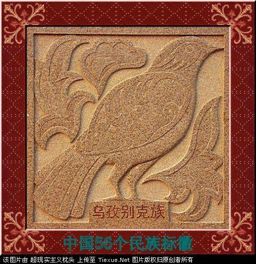 五十六个民族的图腾标徽 1413