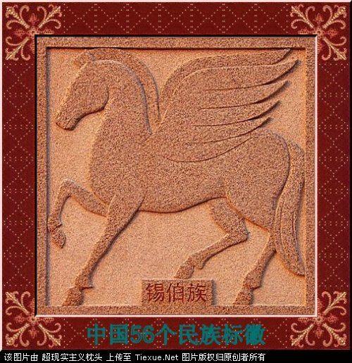 五十六个民族的图腾标徽 1812