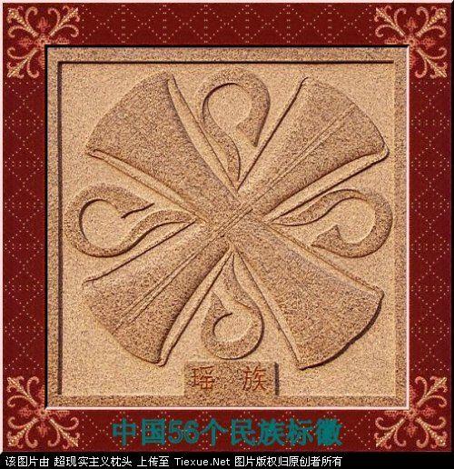 五十六个民族的图腾标徽 3111