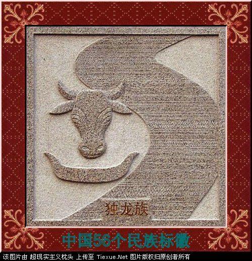 五十六个民族的图腾标徽 4211