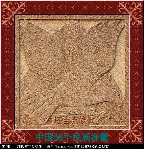 五十六个民族的图腾标徽 4911