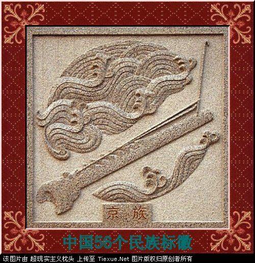 五十六个民族的图腾标徽 5010