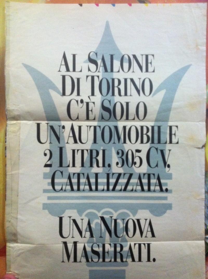 Vecchie pubblicità Maserati Ghibli10
