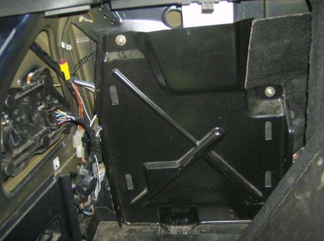 Montage d'un radar de stationnement 1110