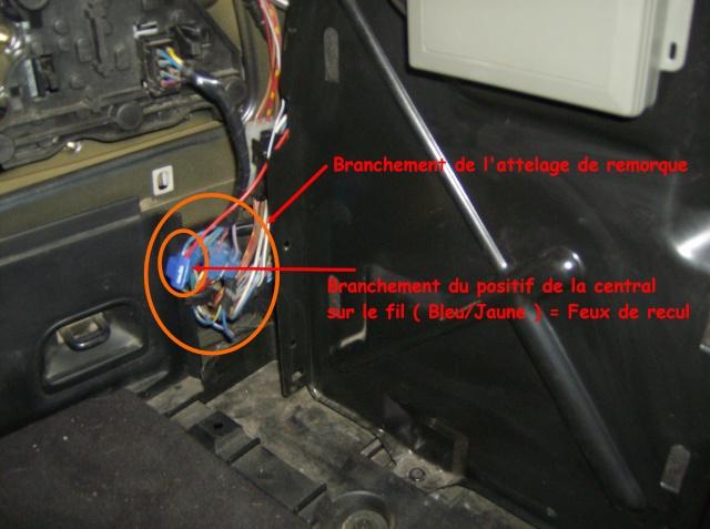 Montage d'un radar de stationnement 2410