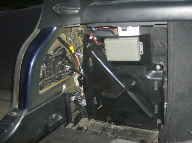 Montage d'un radar de stationnement 2510
