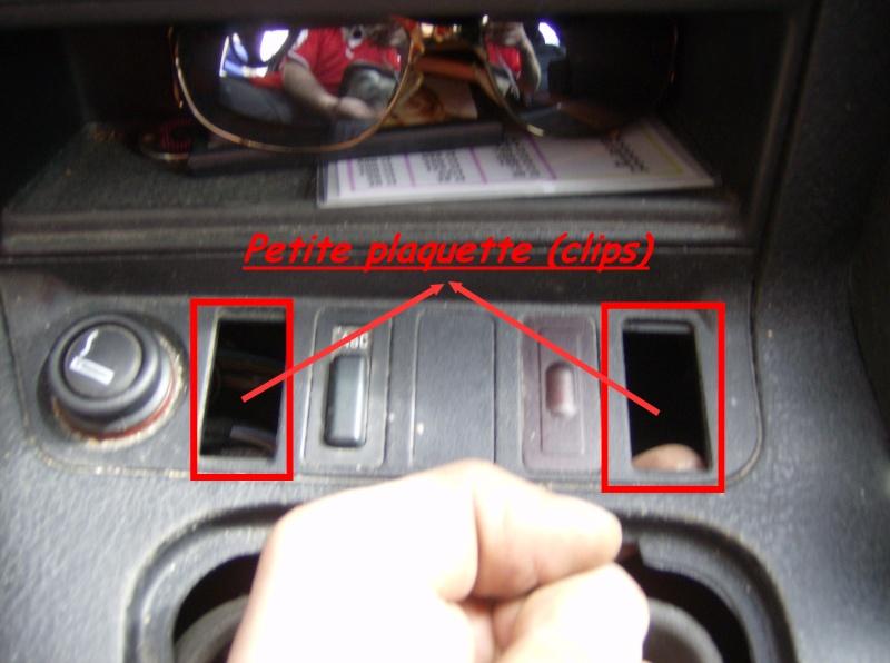 [BMW E36] Bouton de démarrage avec diode Clips10