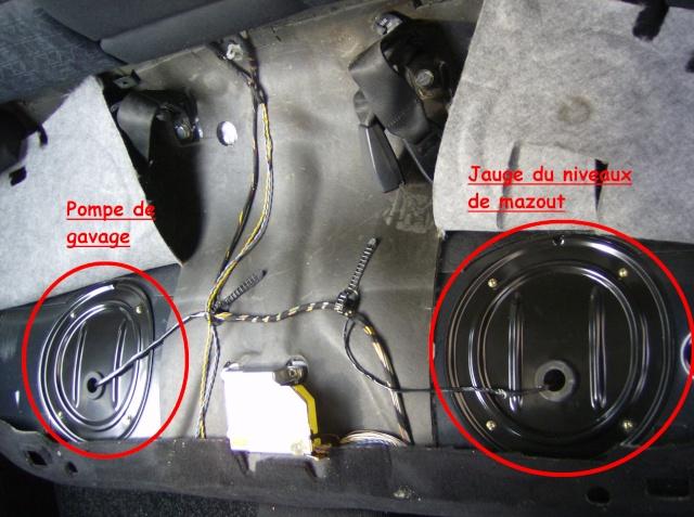 [Moteur M41] Pompe de gavage + jauge de gasoil Depose10