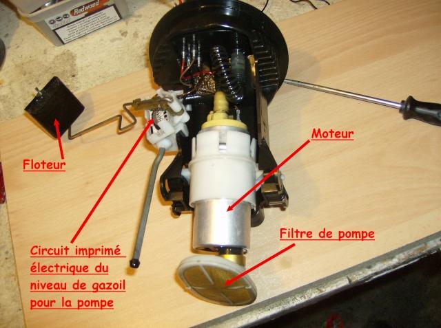 [Moteur M41] Pompe de gavage + jauge de gasoil Depose13