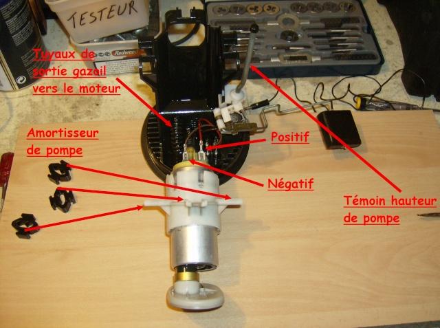 [Moteur M41] Pompe de gavage + jauge de gasoil Depose14