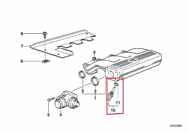 [BMW 318 tds E36] Sonde de température d'air d'admission Sonde_13