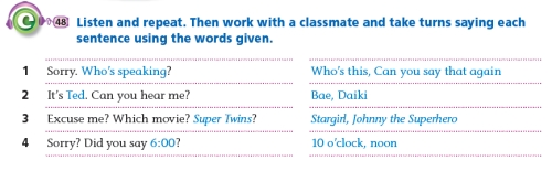 Example Lesson Outline A (real-world/situational dialogue) Bs2-7b10