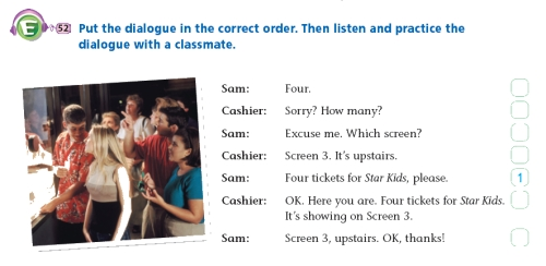 Example Lesson Outline A (real-world/situational dialogue) Bs2-7d10