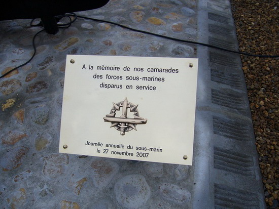 La journée annuelle du Sous-marin 2007 Plaque10
