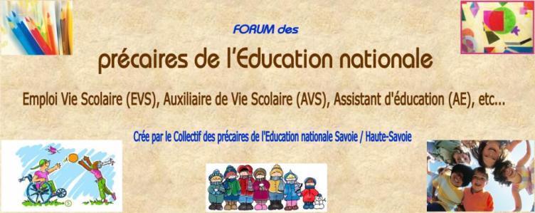 Les précaires de l'Education Nationale 73-74