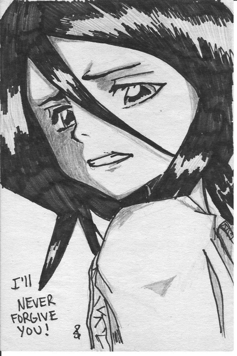 (Niwa) Mes Dessins Rukia110