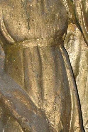 Du vieillissement de la bronzine . (dorure, altération, couleur, patine) Bronzi12