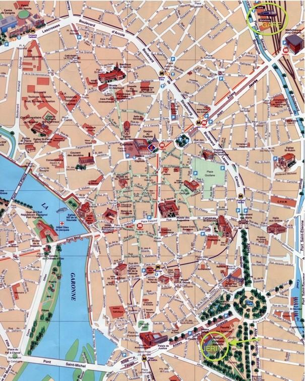 Informations pratiques JERI 2011 : plan, accès... Plan_t10
