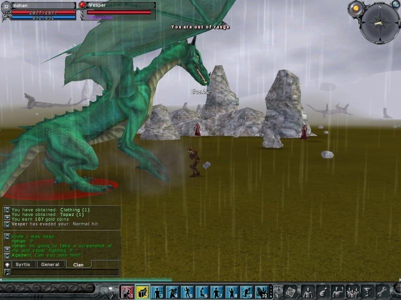 Vesper the Dragon vs Nohan the Barbarian Screen21
