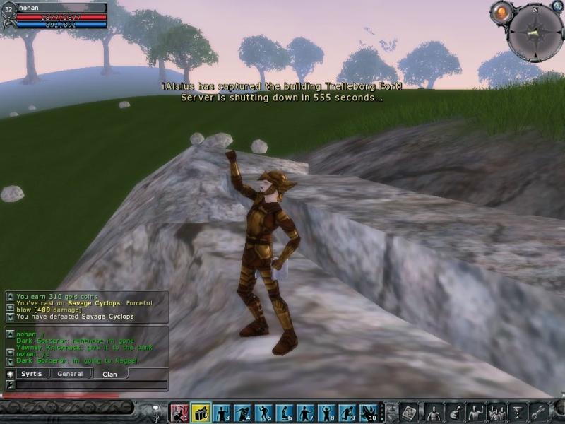 Vesper the Dragon vs Nohan the Barbarian Screen22