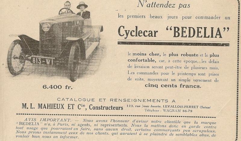Bedelia Cyclecar Bedeli11