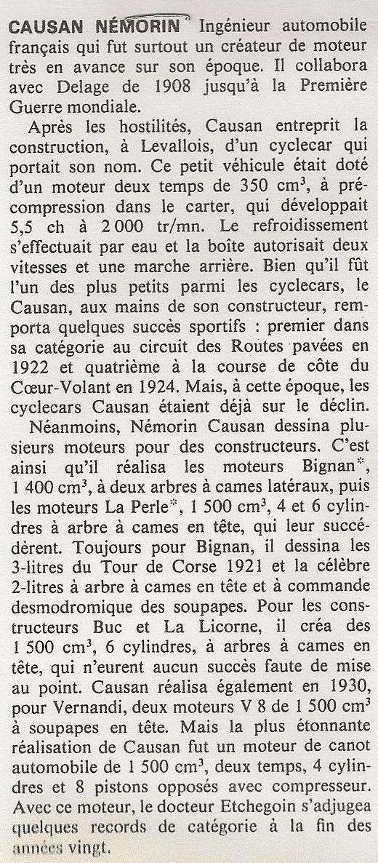 Némorin CAUSAN Ingénieur (1881-1937) Histor10