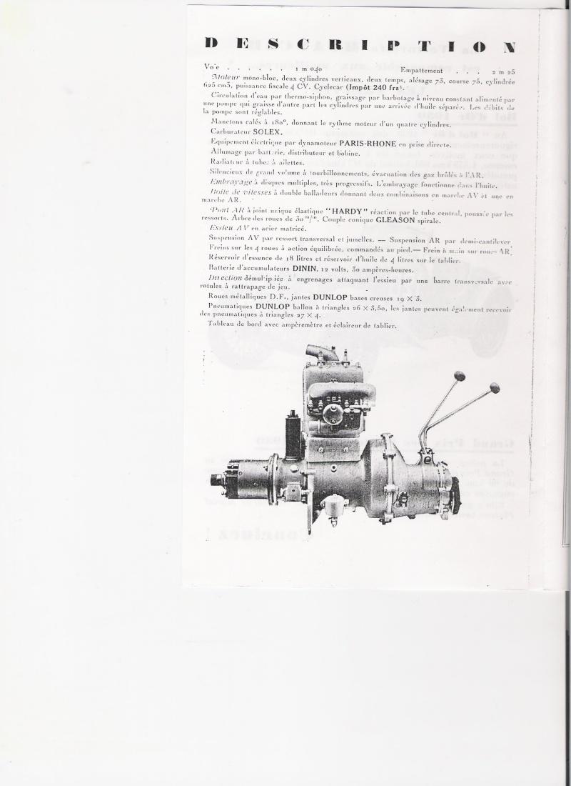 Moteur de cyclecar et voiturette Moteur16