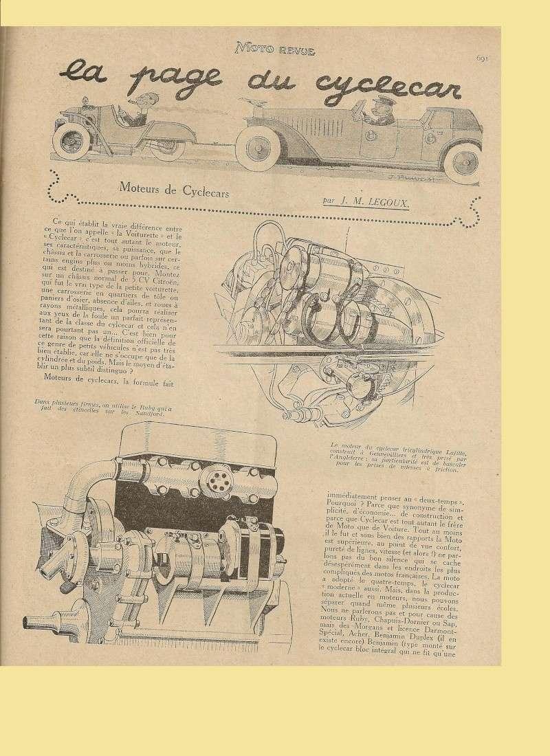 Moteur de cyclecar et voiturette - Page 2 Moteur29
