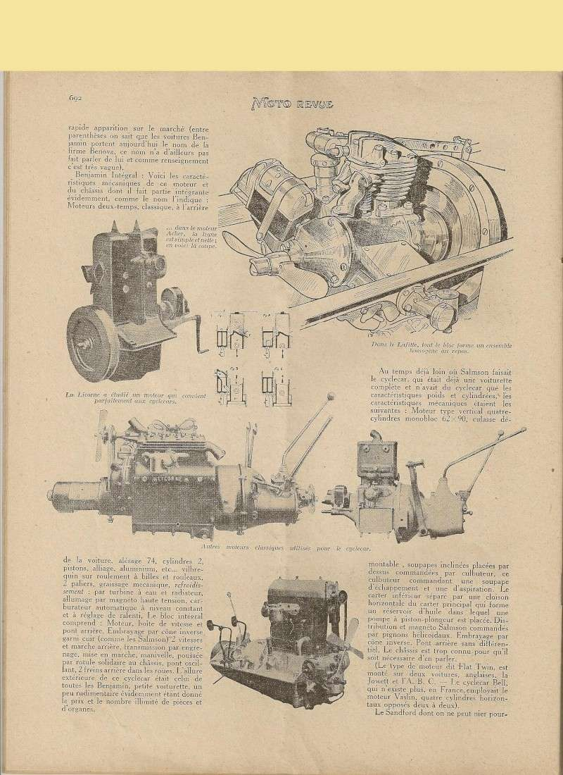 Moteur de cyclecar et voiturette - Page 2 Moteur30