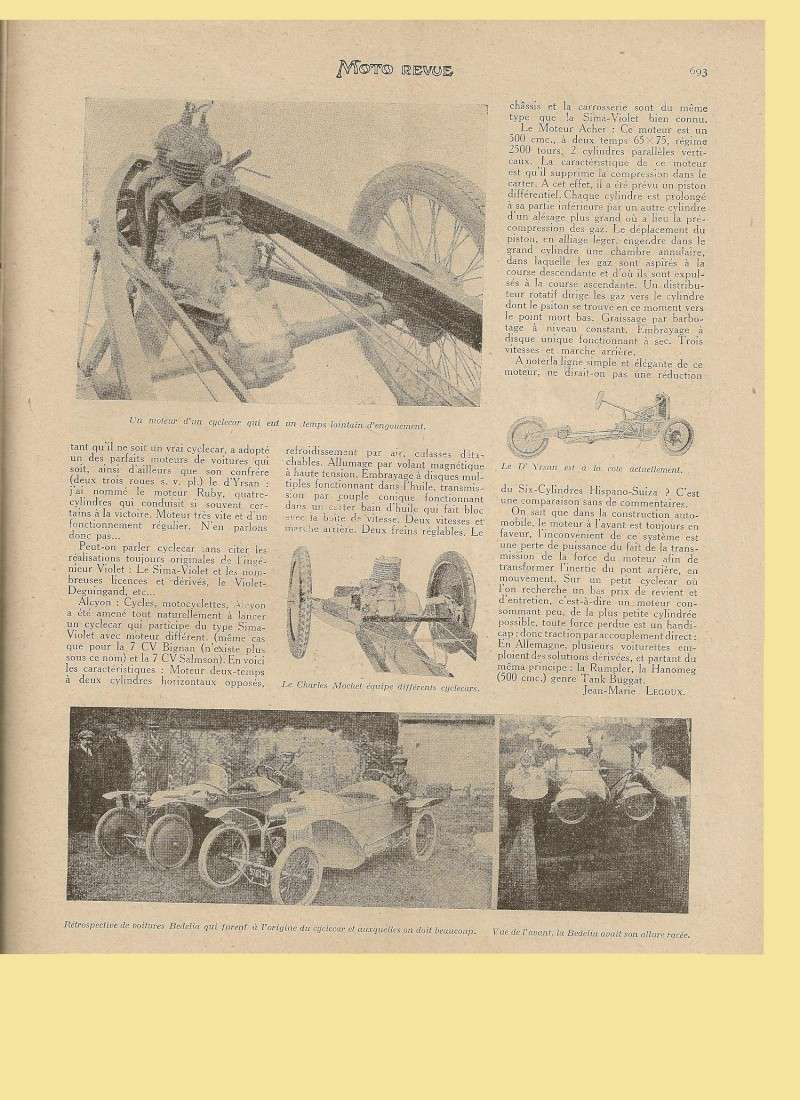 Moteur de cyclecar et voiturette - Page 2 Moteur31
