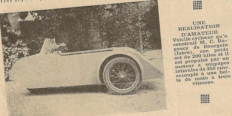 Tricyclecar RAGOUCY Ragouc10
