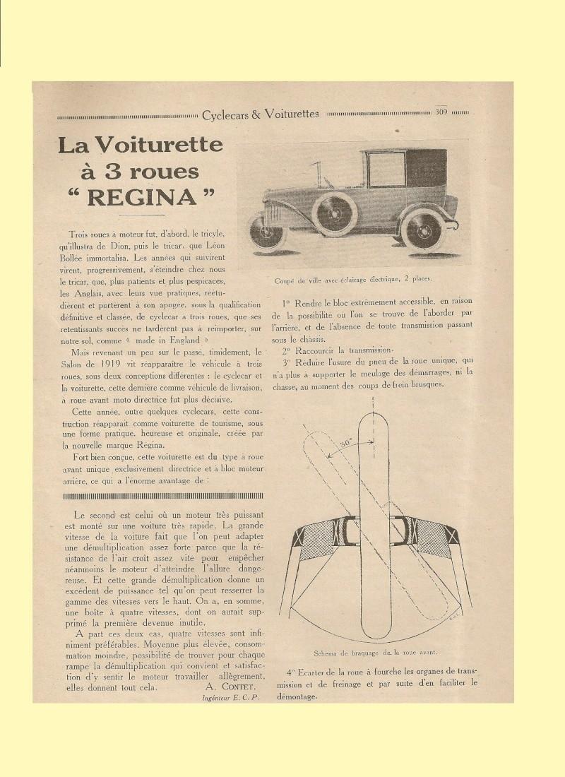 Regina cyclecar Regina10