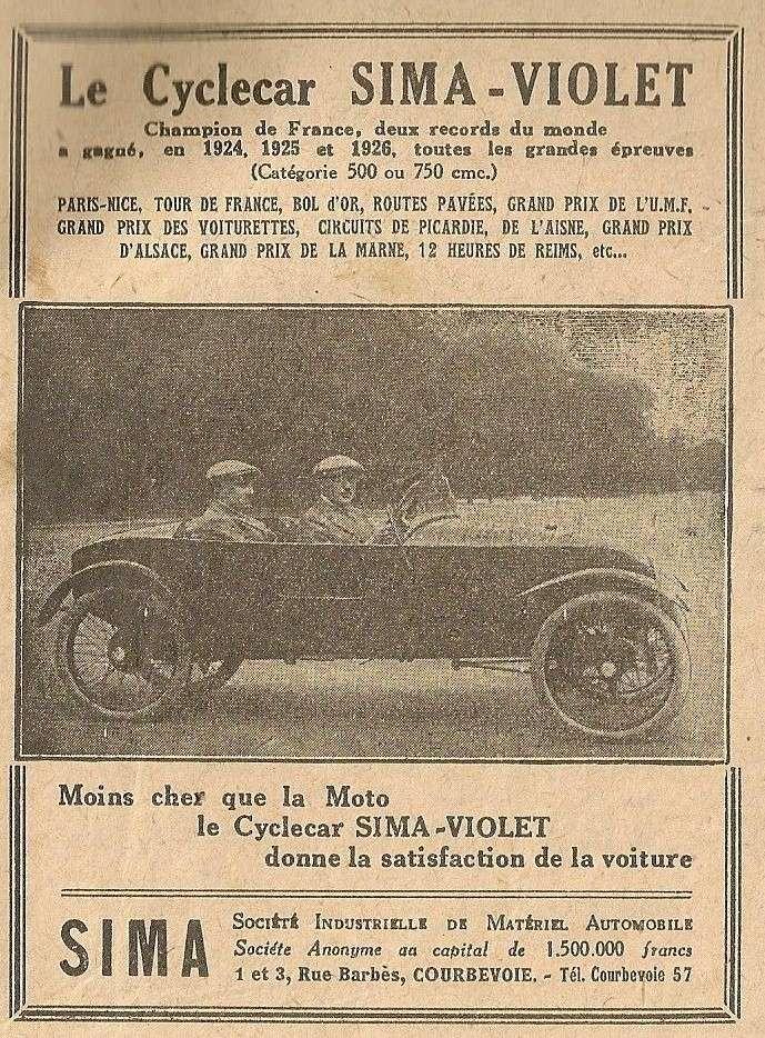 SIMA VIOLET cyclecar Sima_c10