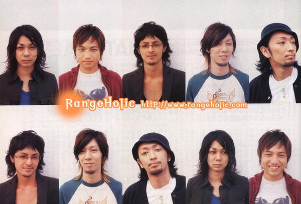 ORANGE RANGE Group Photo Collection 11927010