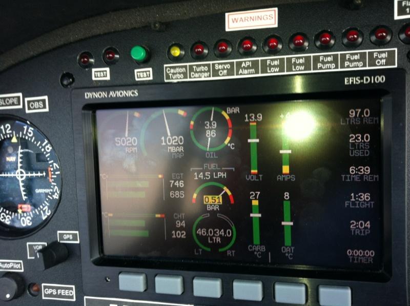Haute pression d'essence en altitude sur Rotax 914 D1809110