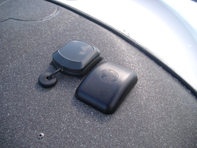 Antenne GPS et bulle fumée Pentax13
