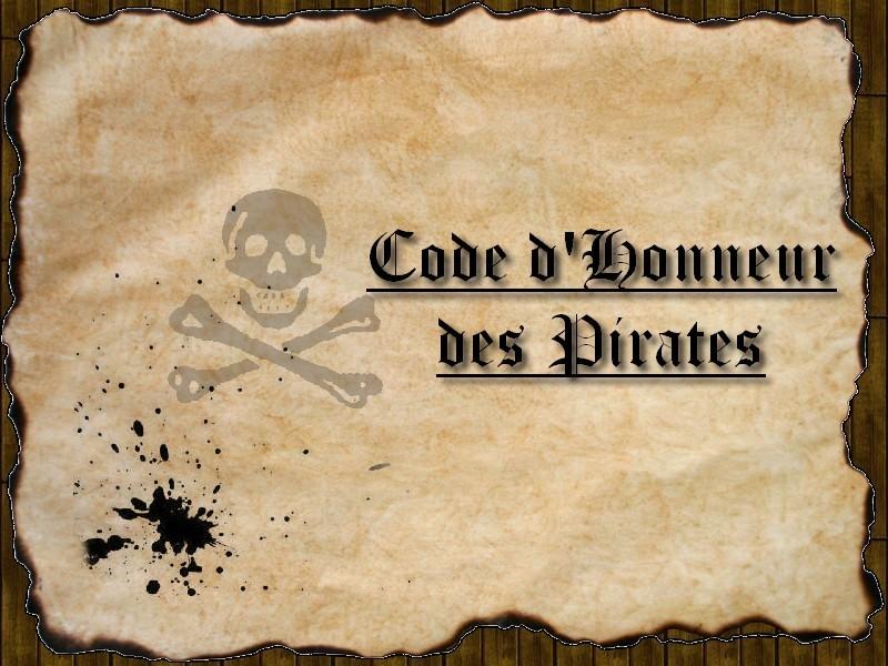 Règles du Code d'Honneur des Pirates 0012