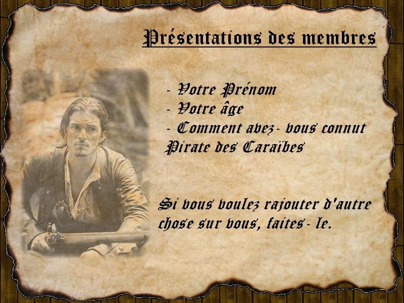 Règles du Code d'Honneur des Pirates 0311