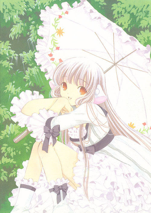 Primavera anime. Chobit10