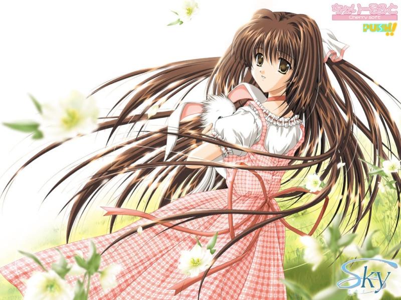 Primavera anime. Wallmi10